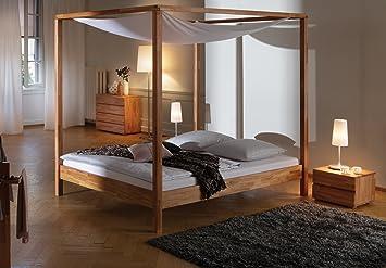 Linguetta letti letto in legno letto baldacchino letto Justine ...