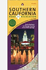 Southern California/ Los Angeles Map, Road & Recreation, 6th Edition Map