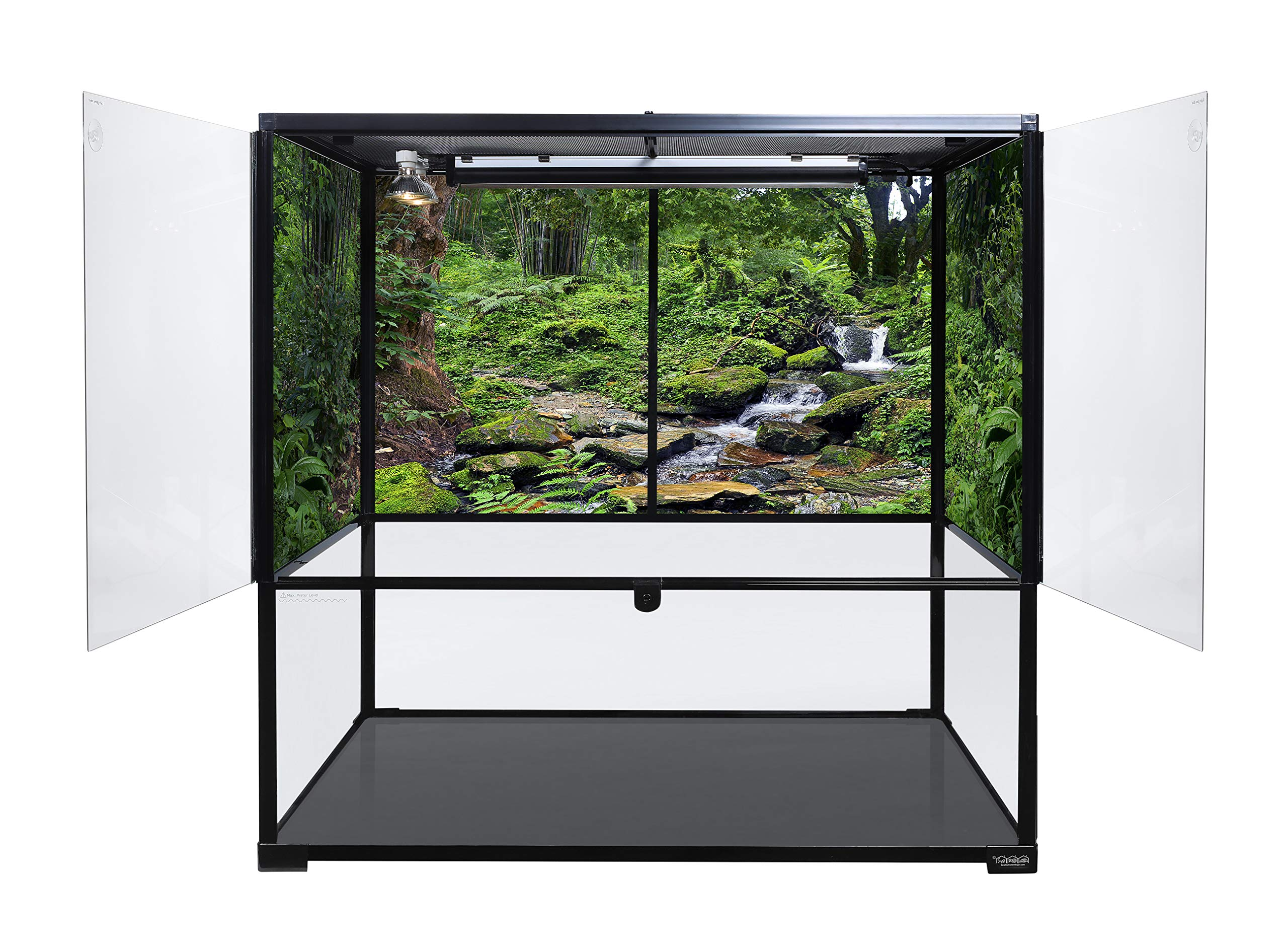 Carolina Custom Cages Terrarium, Bio Deep 36Lx18Wx36H; Easy Assembly by Carolina Custom Cages