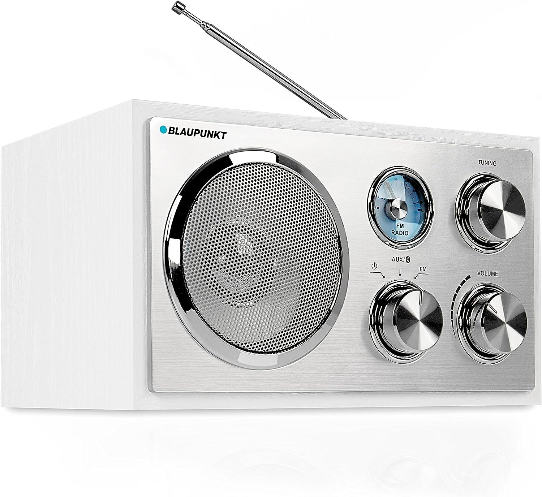 Blaupunkt rxn 19 FM Radio para Cocina, Nostalgie – Retro Radio con  Bluetooth