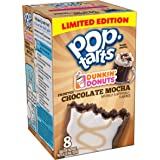 Pop-Tarts Dunkin Donuts Frosted Chocolate Mocha Toaster Pastries, 8 oz