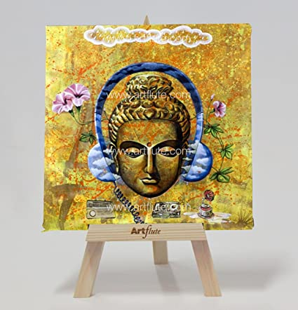Artflute - Headphone Buddha Return Gifts Unique Gifts Show Pieces for Living Room
