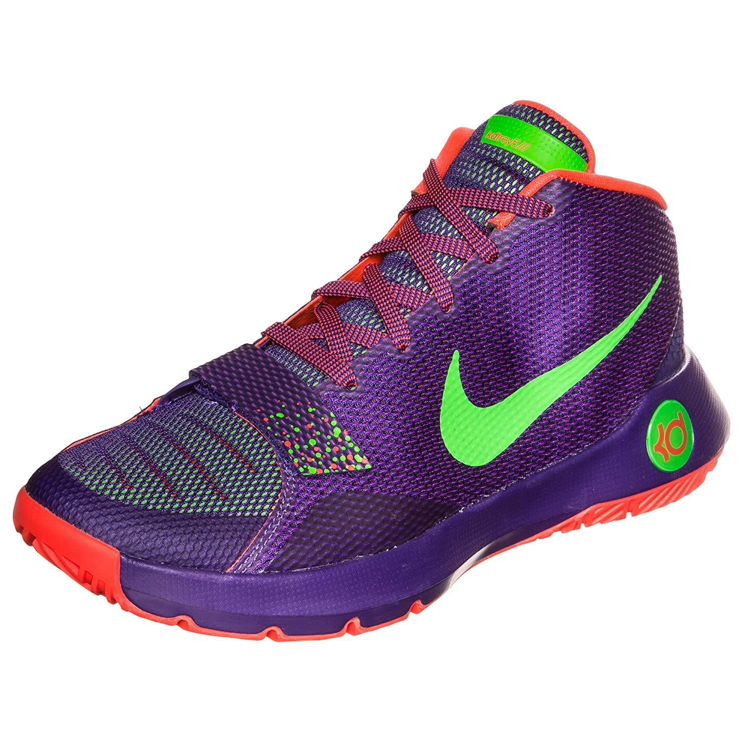2962db39b9d0dd ... real nike kd trey 5 iii v 3 men basketball shoes new court purple 10.5  50 ...