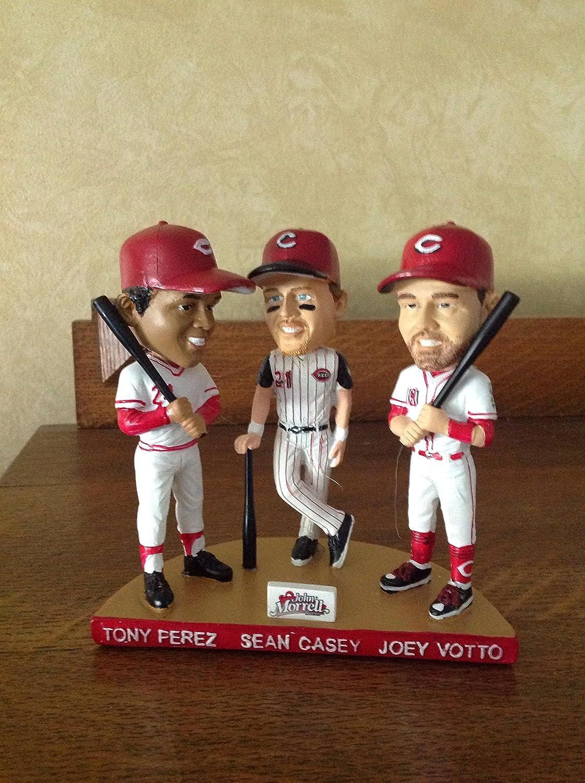 Votto Bobblehead. Cincinnati Reds Great First Basemen Perez Casey