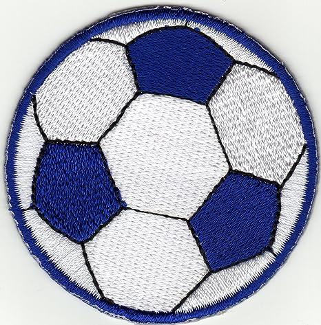 Hierro en parche bordado parches Aplicación fútbol balón de fútbol ...