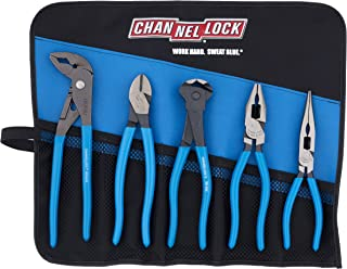 product image for Channellock Tool Roll-5E E Series Set in a Tool Roll, 5-Piece