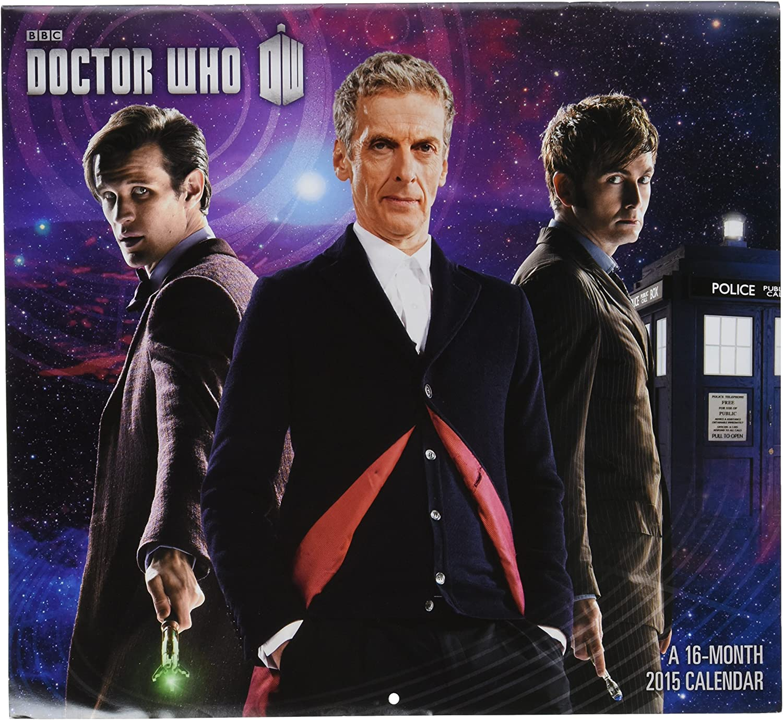 1 X Doctor Who 2015 Wall Calendar