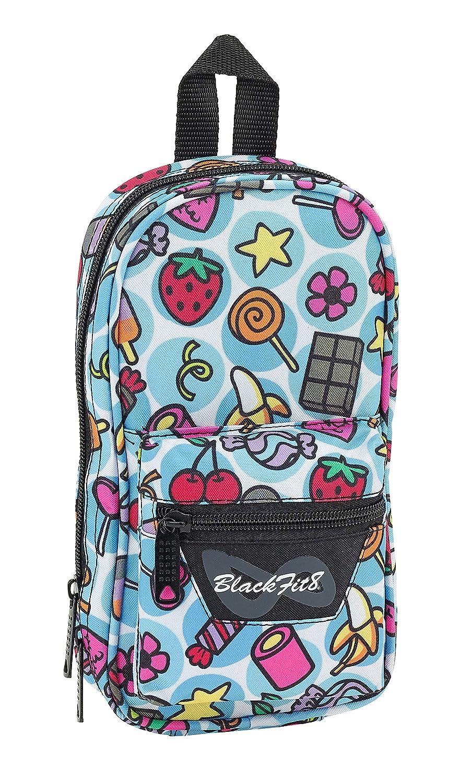 Amazon.com: Blackfit8 2018 Make-Up Pouch, 23 cm, Multicolour ...