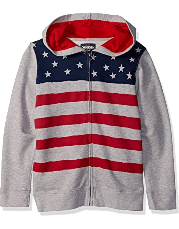 fe90eae61 OshKosh B'Gosh Boys' Full Zip Logo Hoodie