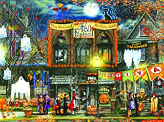 product image for Fall Festival 500 pc Halloween Jigsaw Puzzle by SunsOut