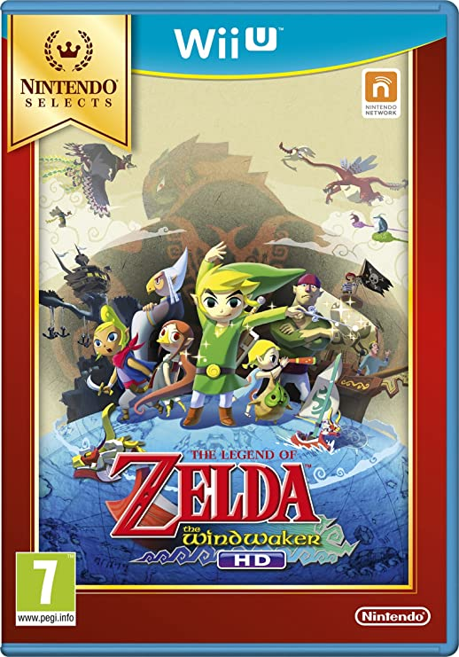 Nintendo Zelda Wind Waker, Wii U Básico Wii U Italiano vídeo ...