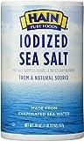 Hain Pure Foods Sea Salt Iodized -- 26 oz