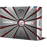Callaway 2017 Chrome Soft X Golf Balls (One Dozen)