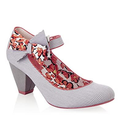 d9ab69b6a7334 Ruby Shoo Women's Piper Fabric Low Heel Mary Jane Pumps & Free Belle Divino  Sole Protector: Amazon.co.uk: Shoes & Bags