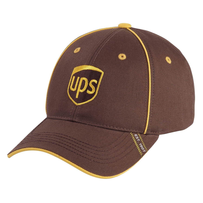 8cf8274d Amazon.com: BROWN PIPING UPS LOGO BASEBALL CAP: Sports & Outdoors