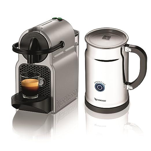 Nespresso Inissia - Máquina espresso de DeLonghi con aeroccino ...