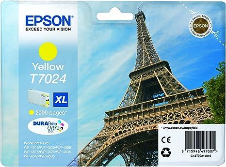 Epson T7024 Xl Cartouches Dencre Originale Jaune Amazon Dash Replenishment Est Prêt