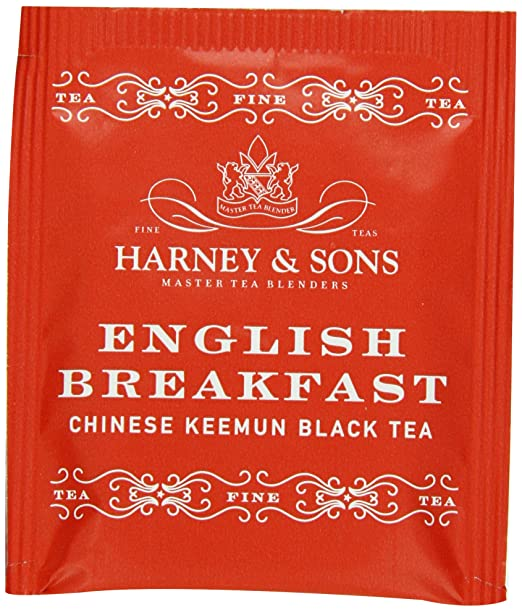 Harney & Sons English Breakfast Tea 100g / 3.57 oz (50 Tea Bags)
