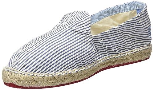 El Ganso Alpargata Seersucker Hombre, (Azul/Blanco Único), 40 EU: Amazon.es: Zapatos y complementos