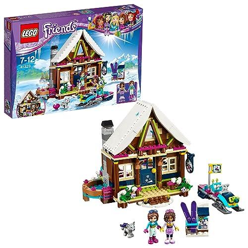 LEGO Friends - Le chalet de la station de ski - 41323 - Jeu de Construction