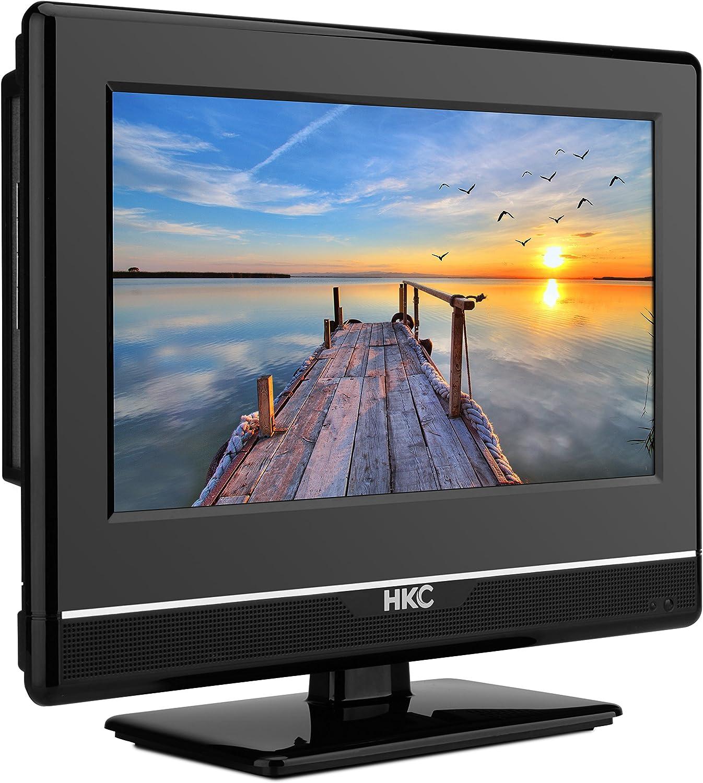 HKC 13M4: Televisor LED de 33,8 cm (13 Pulgadas) (Full HD, Triple Tuner, Ci+, Reproductor de Medios a través de USB 2.0, Cargador de Auto de 12 V): Amazon.es: Electrónica