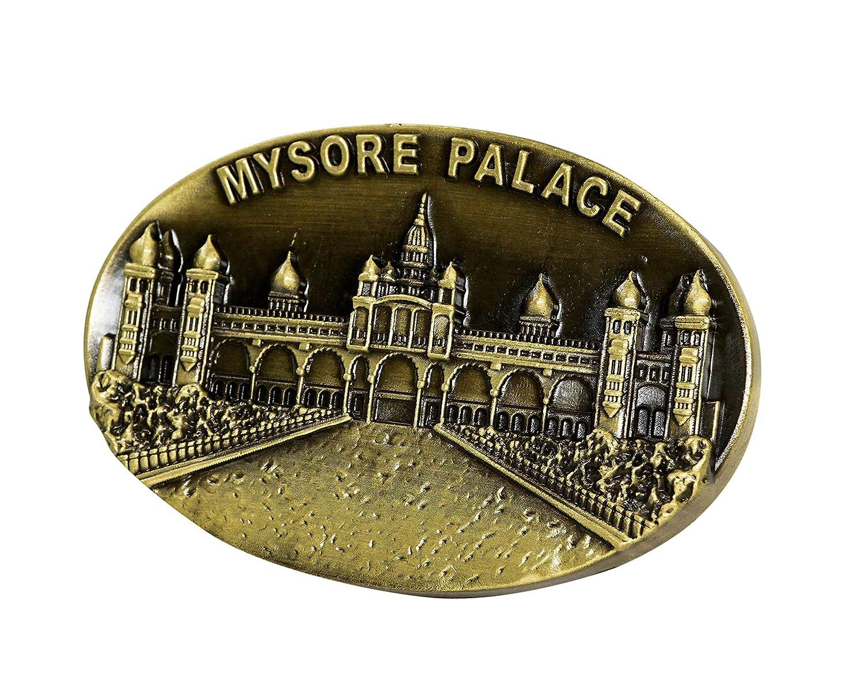 Frigor/ífico O Cocina De 3D Dise/ño /único Decoraci/ón para El Hogar Palacio Jaganmohan, Mysore India zamonji Im/án De Metal para Nevera Recuerdos De Atracci/ón Tur/ística