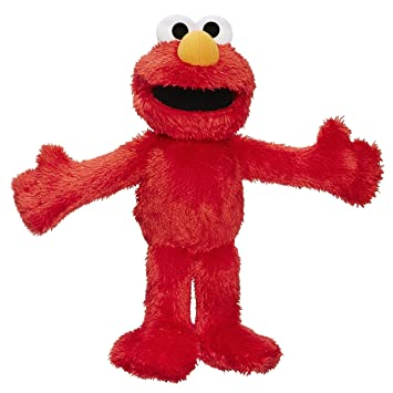 04462a11e3 Sesamstraße Playskool The Furchester Hotel – Das Kleine Rote Monster Elmo [UK  Import]