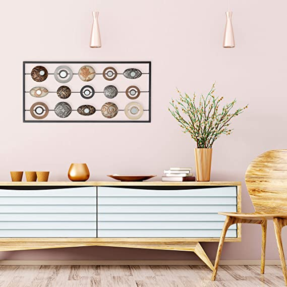 Amazon.com: The modernista Wall Art, abstracto Floating ...