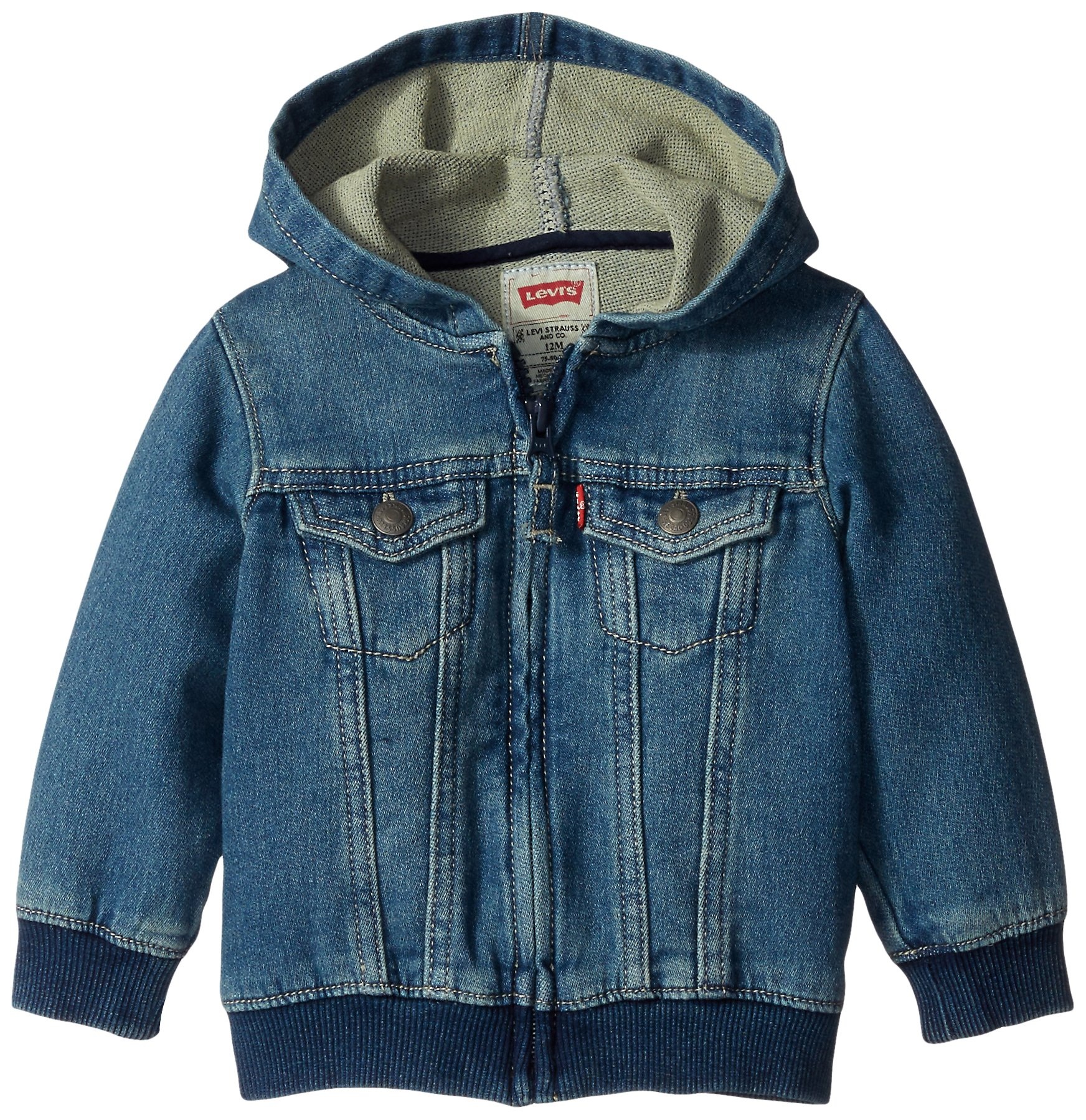 Levi's Baby Boys Hoodie, Waverly, 24 Months by Levi's