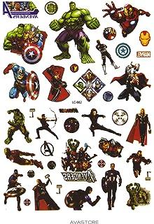 0b0b69d4d7644 Temporäre Tätowierungen Super Helden Avengers – Tattoo flüchtig Super  Helden Avengers – avastore