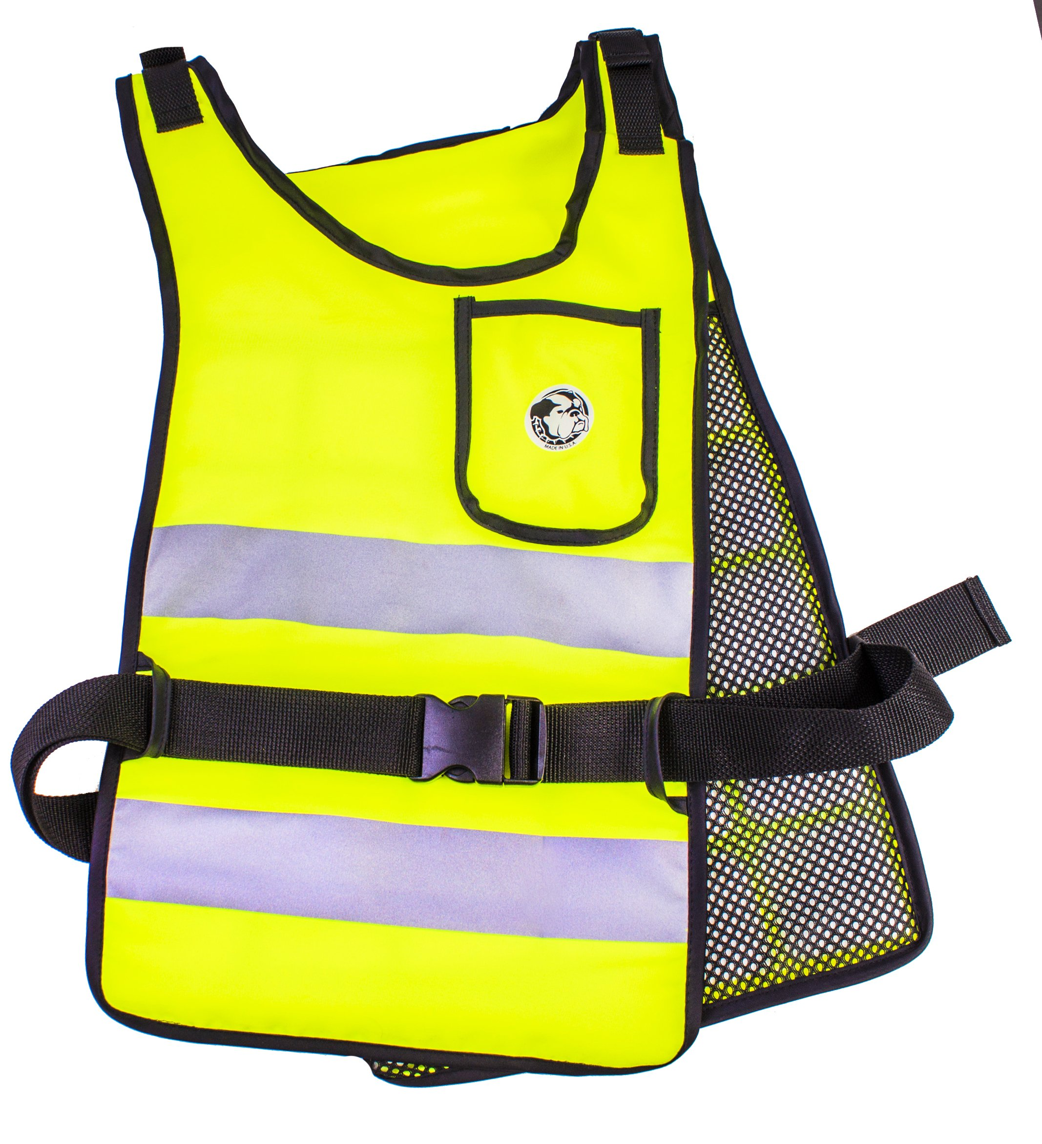 Reflective High Vis Lime AllTuff Super Cool Vest (58°F)