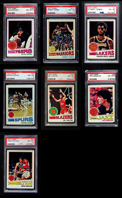 1977-78 Topps Basketball Complete Set - Premier (Basketball Set) Dean's Cards 7.5 - NM+ 91d8fDGoZ5LSL1500_