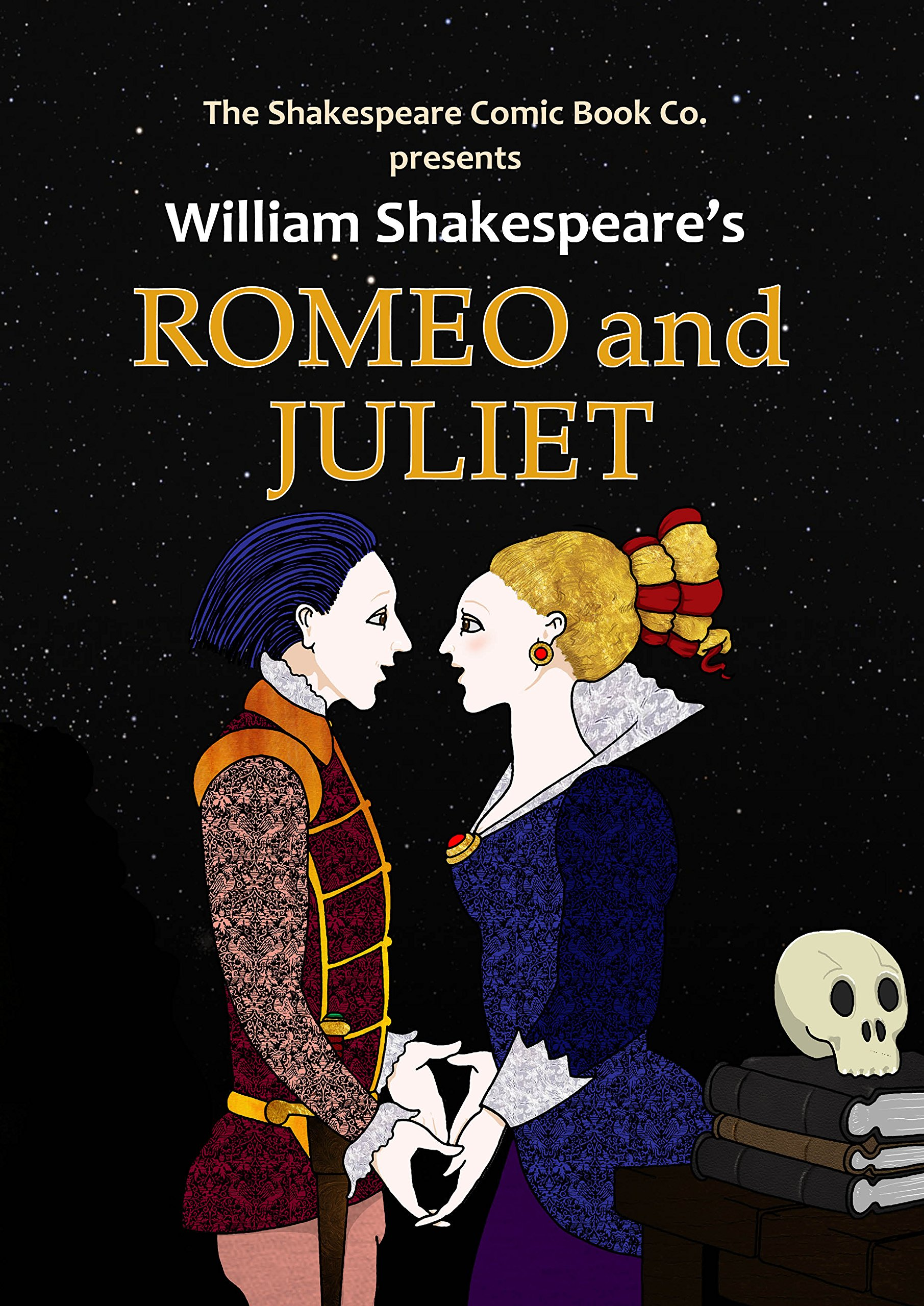 Romeo And Juliet In Full Colour Cartoon Illustrated Format Shakespeare Comic Books William Shakespeare 9780955376146 Amazon Com Books