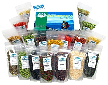 Harmony House Foods The Backpacking Kit 18 Count 1 Cup Zip Pouches