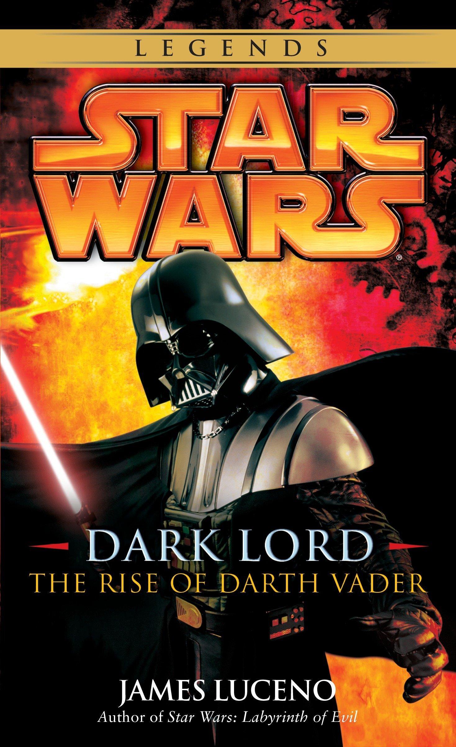 Amazon Com Dark Lord The Rise Of Darth Vader Star Wars 9780345477330 Luceno James Books