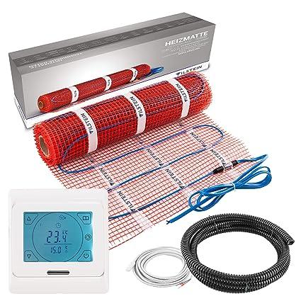 Vilstein - Esterilla de calefacción eléctrica para suelo ...