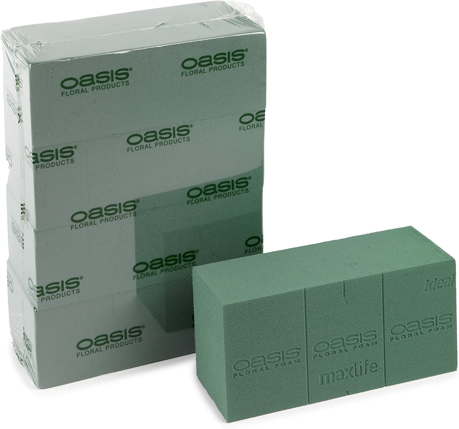 Oasis Ideal Floral Foam Wet Brick or Block Qty 2