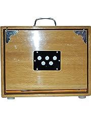 NASIR ALI SHRUTI BOX~BHAJAN~SWAR PETI~TEAK WOOD HANDY C TO C 13 NOTE WITH BAG NASIR ALI SHRUTI BOX~BHAJAN~SWAR PETI~TEAK WOOD HANDY C TO C 13 NOTE WITH BAG