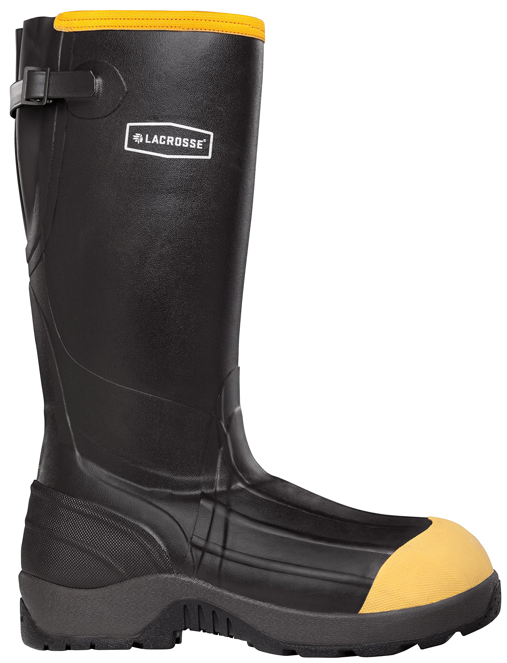 LaCrosse Men's 16'' Insulated Alpha Aggressive 800G NMT Boot,Black,US 9 M