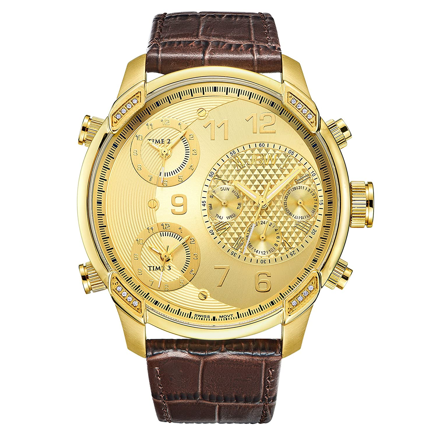 BOS Men s Automatic Mechanical Luxury Watch Rose Gold Case Skeleton Carved Dragon Dial 9007G