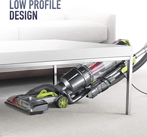 Hoover UH72400's low-profile design