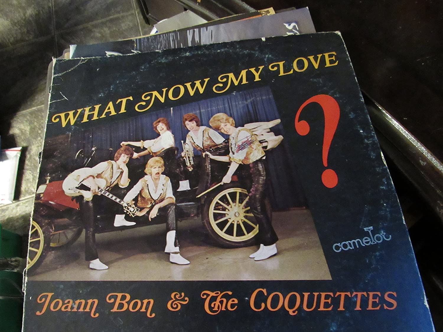 Joann Bon and the Coquettes - vinyl record What Now My Love