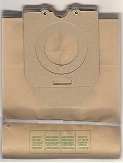 8245 PowerGo Filtro McFilter ESM 16 ecc 20 Sacchetti per aspirapolvere adatti per Philips FC 8240