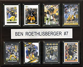 product image for NFL Ben Roethlisberger Pittsburgh Steelers 8 Card Plaque