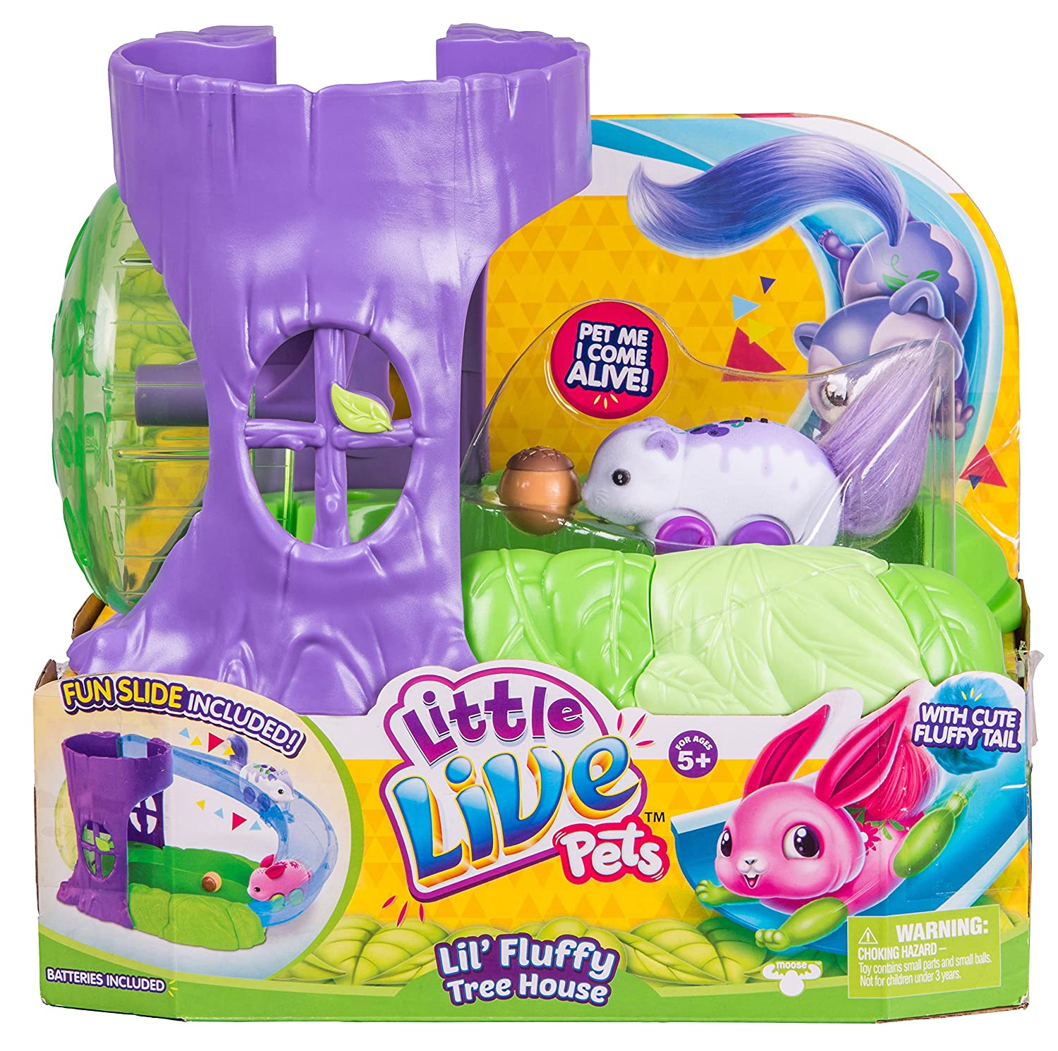 Little Live Pets 28370 Fluffy Friends Playset(Assorted Models) Amazoncouk Toys