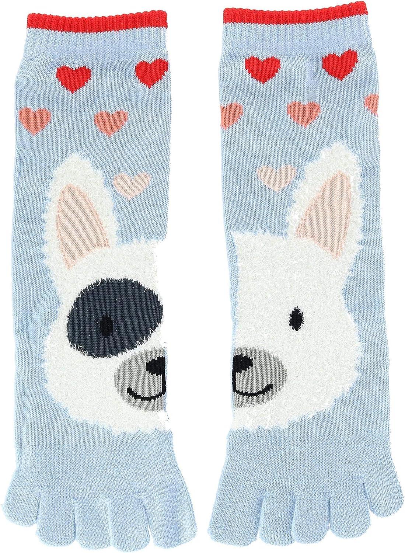Densley /& Co Girls Novelty Critter Toe Socks