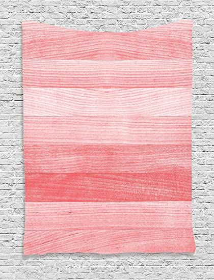 Asddcdfdd Coral Decor Tapestry Rustic Timber Wooden