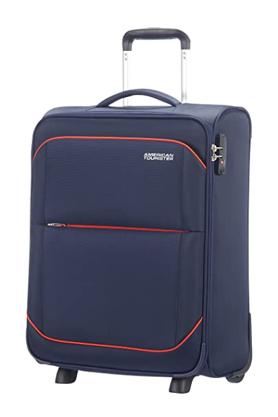American Tourister - Sunbeam Upright 2 Ruedas 55/20 Equipaje de Mano, Azul (Nordic Blue), 56 cm, 44 L