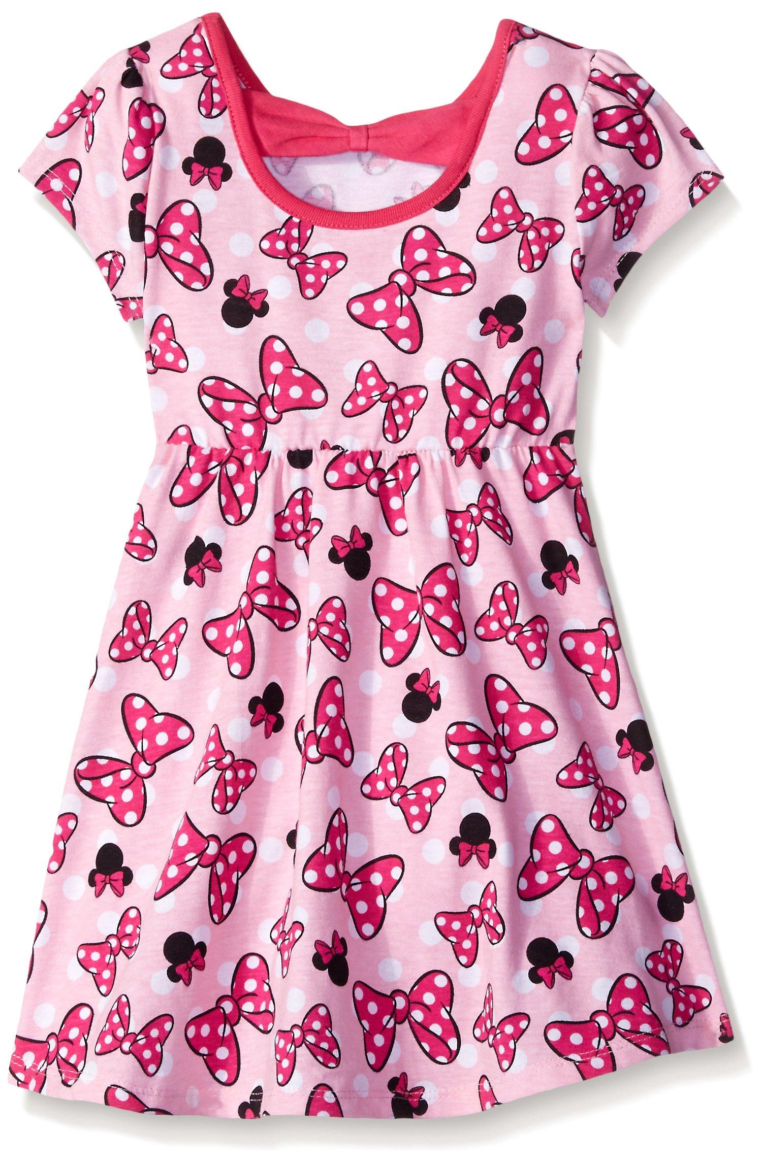 Disney Little Girls' 2 Pack Love Minnie Dresses, Pink, 6X by Disney (Image #2)