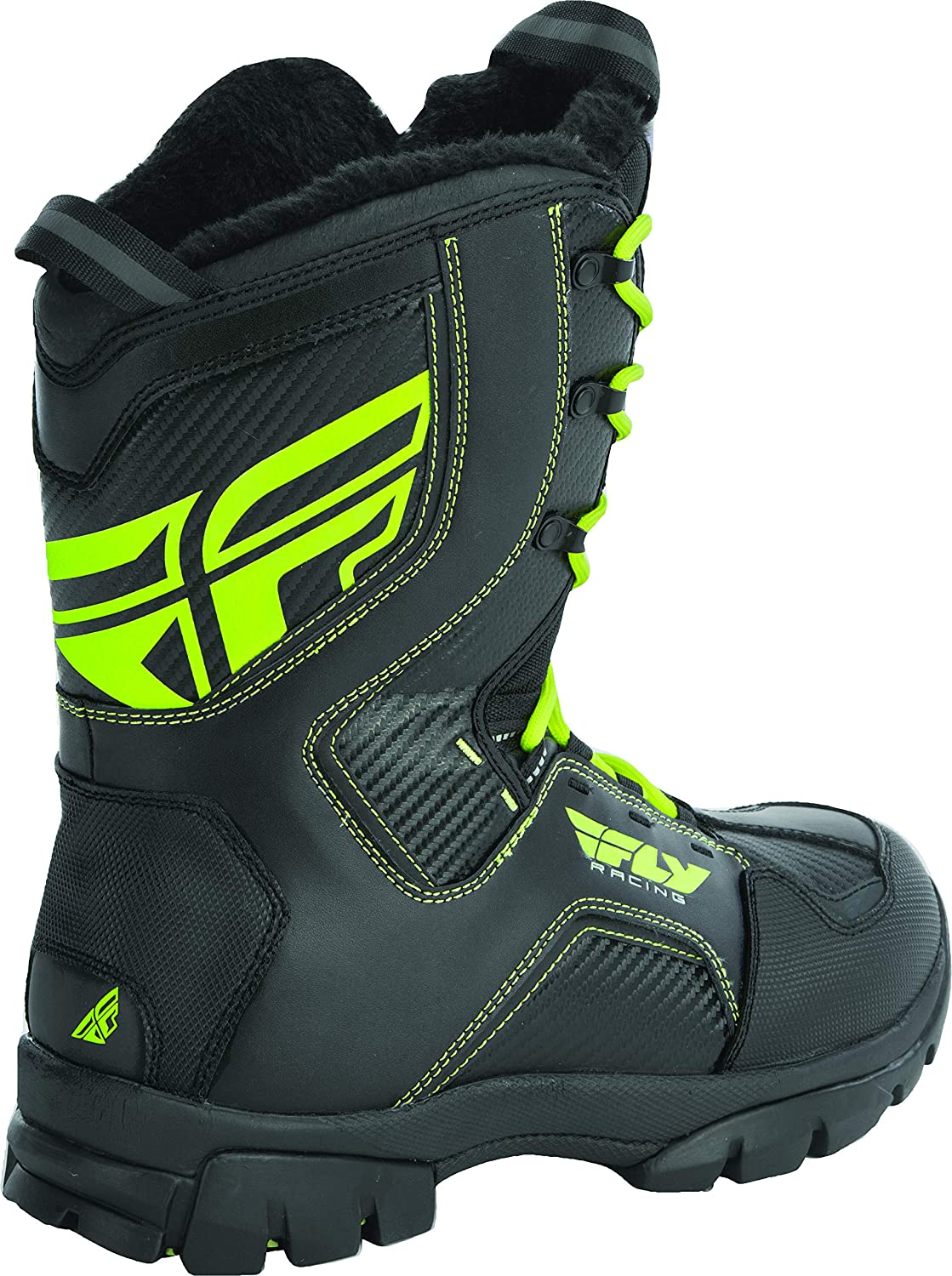 Fly Racing Marker Boots Black Sz 11